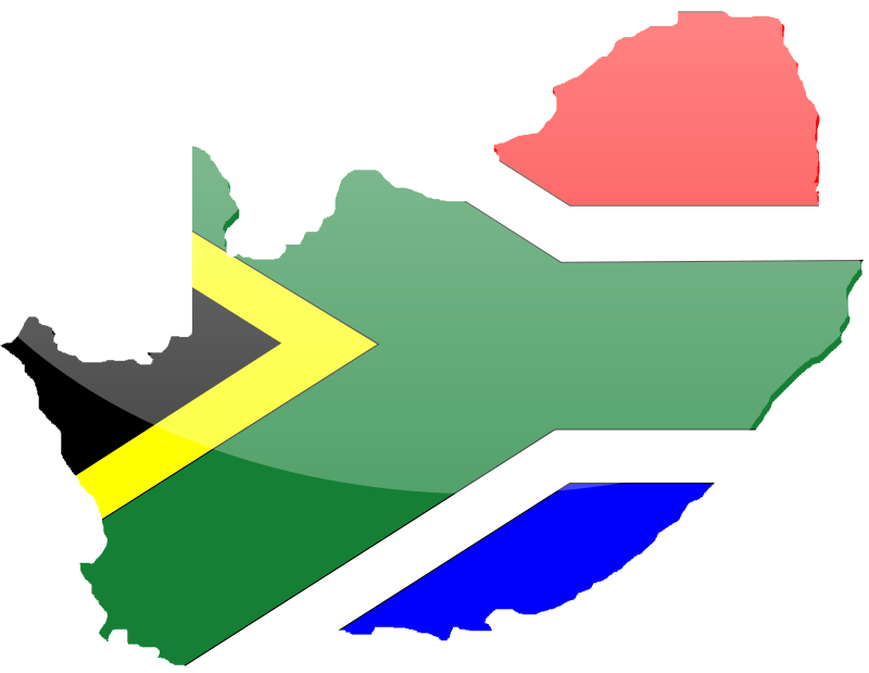 Free Clipart: South African Flag 2.