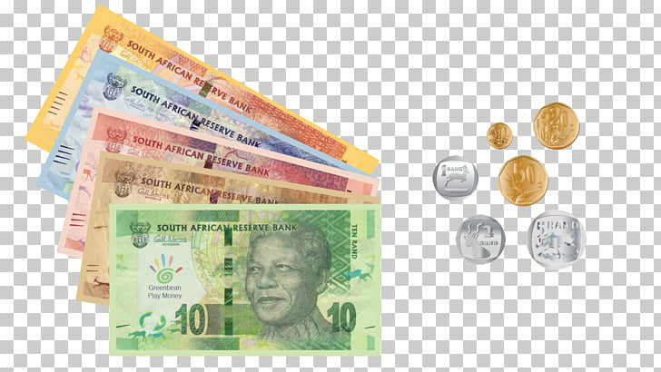 Money Currency Banknote South African rand, currency.