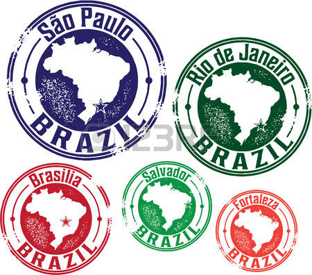 1,173 Brazil Stamp Cliparts, Stock Vector And Royalty Free Brazil.