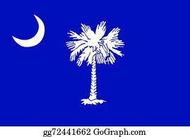 South Carolina State Clip Art.
