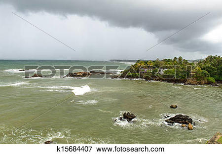 Picture of Sri Lanka, South Coast. city ??of Galle k15684407.