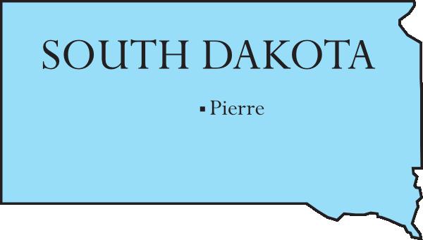 South dakota clipart.