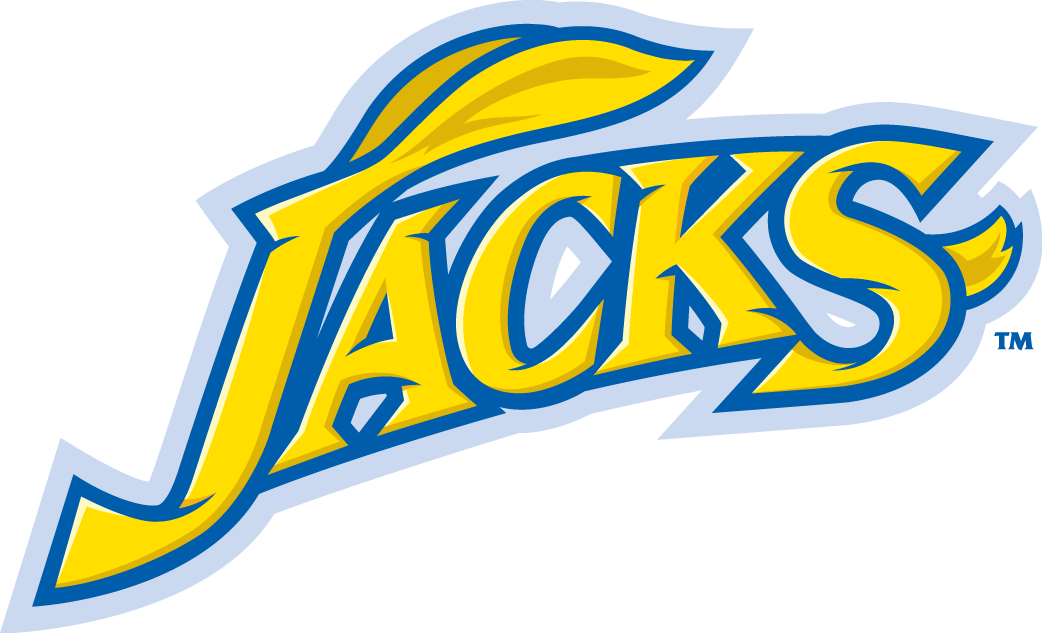 South Dakota State Jackrabbits Wordmark Logo.
