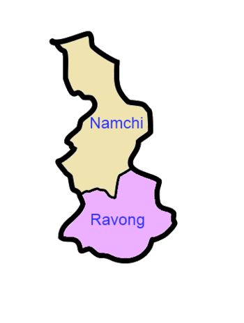 South Sikkim district.