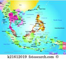 Southeast asia Clipart Illustrations. 1,560 southeast asia clip.