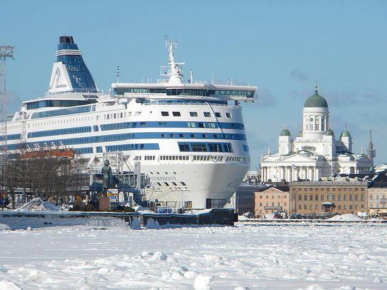 South Harbor of Helsinki.