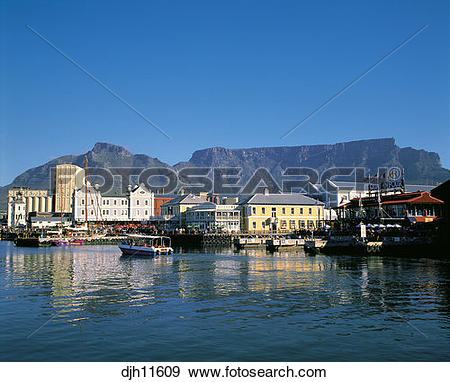 Stock Photograph of Victoria and Alfred Waterfront, Capetown.