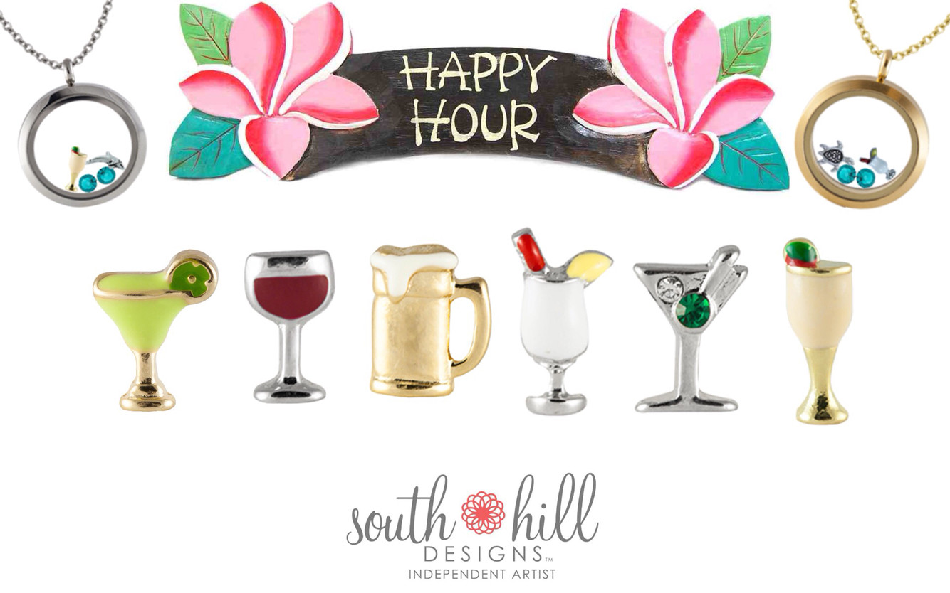 Happy Hour with South Hill Designs all charms #fabulous summer.