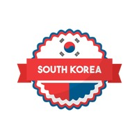 Free South korea flag icon Vector Image.
