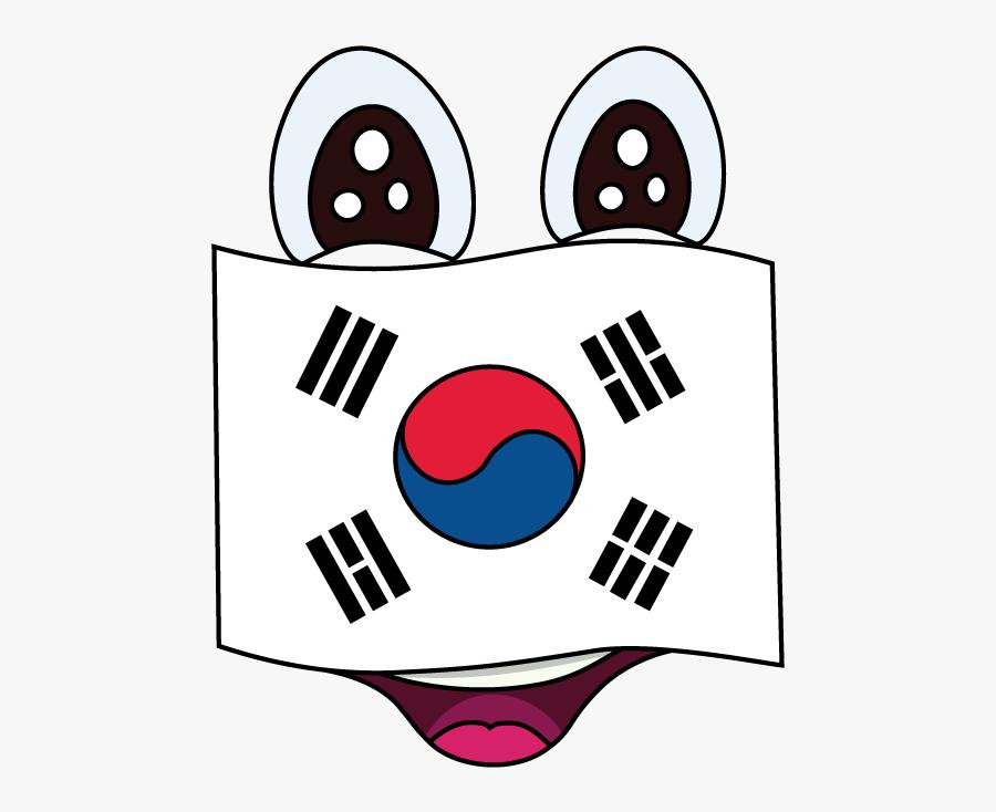 Easy Korean Flag North Draw.