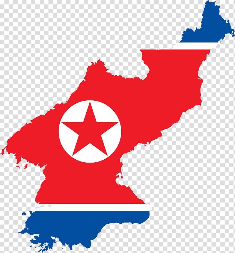 Flag of North Korea Map Flag of South Korea, korean.