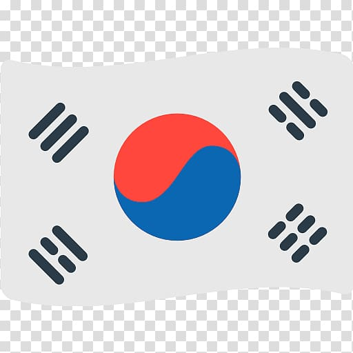 Flag of Korea, Flag of South Korea Flag of North Korea Emoji.