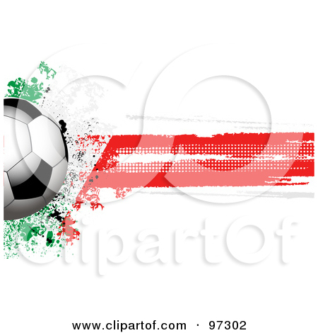 Animated Soccer South Africa Clipart.