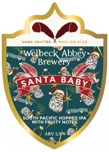 Welbeck Abbey Brewery Santa Baby.