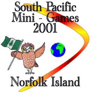 2001 South Pacific Mini Games.