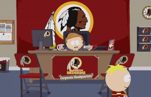 South Park, Trademark, Goodwill and the Washington Redskins.