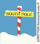 South pole Clipart Illustrations. 1,525 south pole clip art vector.