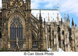 Stock Image of Cologne Cathedral.
