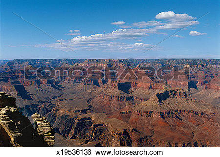 Stock Images of The Grand Canyon, South Rim view, Grand Canyon.