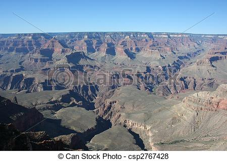 Pictures of Grand Canyon South Rim Topography.