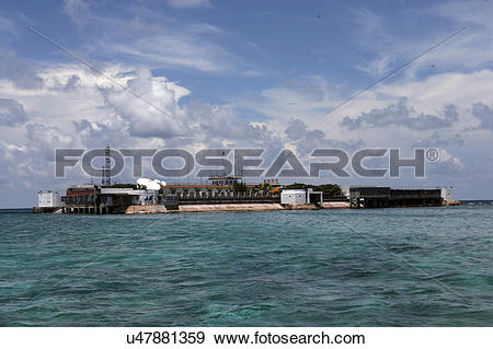 Stock Photograph of China Hainan Province Sansha City South Sea.