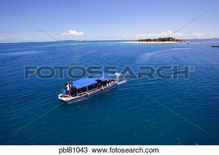 Stock Photo of South Sea Island Resort,Mamanucas, Fiji pbl81043.