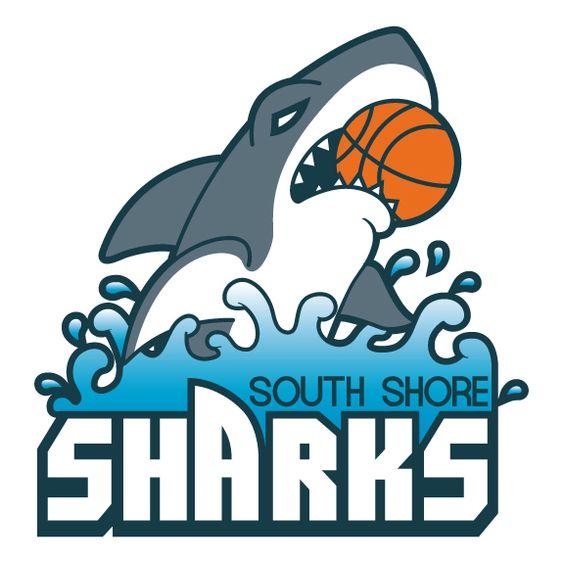 South Shore Sharks Logo.