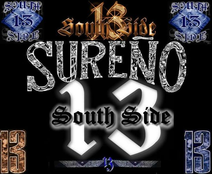 South Side 13 Clipart.
