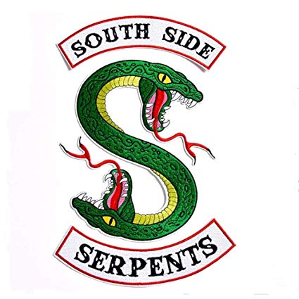 Choppershop Riverdale South Side Serpents Snake Embroidered.