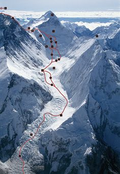 Pierre Beghin high on K2, 8,611m. another of my favourite images.