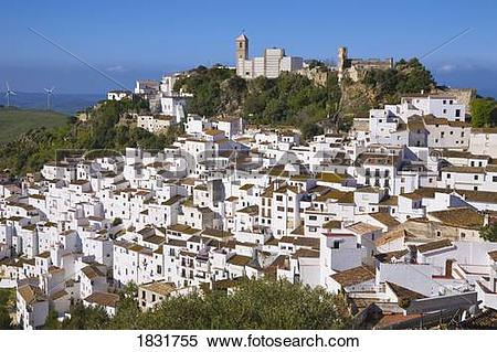 Stock Image of Casares Malaga, Spain 1831755.