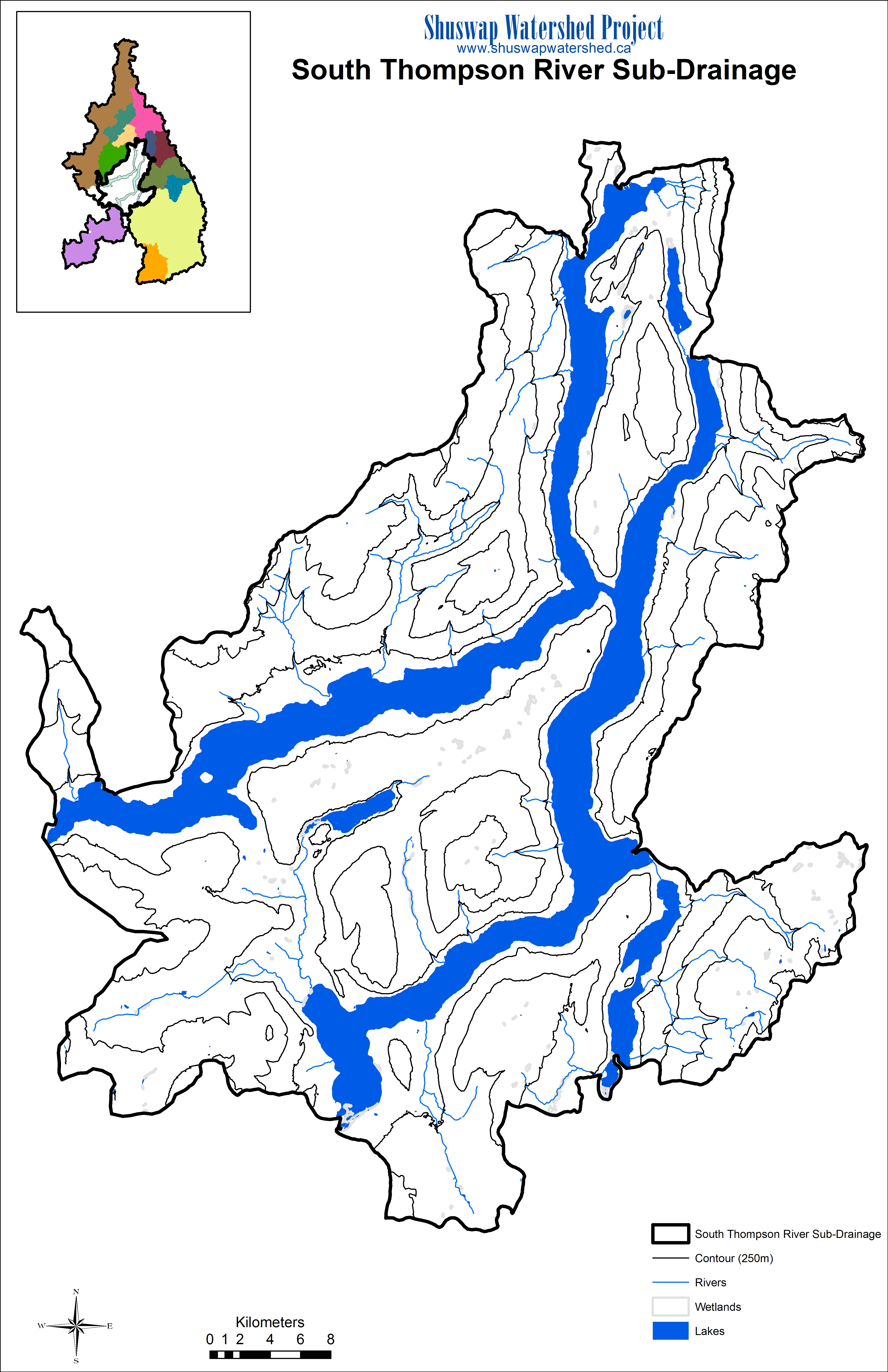 Watershed Maps.