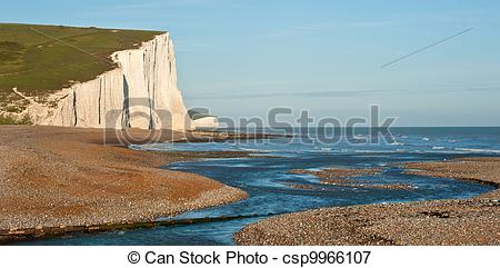 Picture of Sven Sisters Cliffs South Downs England landscape.