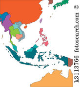 Southeast asia Clipart Illustrations. 1,560 southeast asia clip.