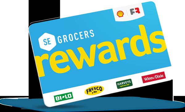 SE Grocers Rewards.