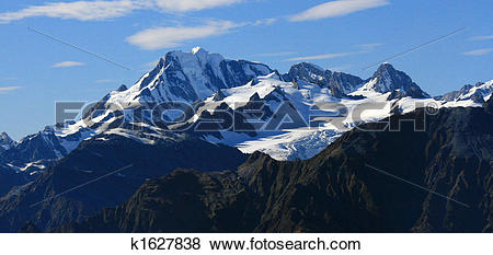 Pictures of Mountains Covered With Snow.