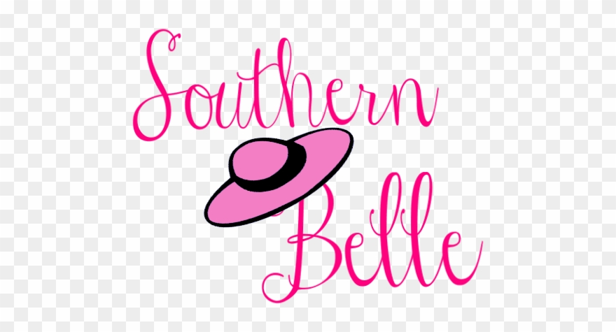 Southern Belle Hat Clipart.