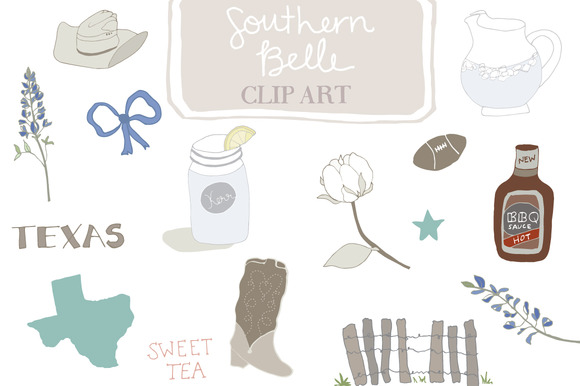 Southern clipart.