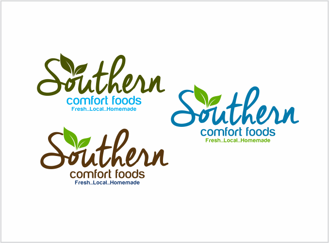 Logo for Southern Comfort Foods by Chefjennifer.