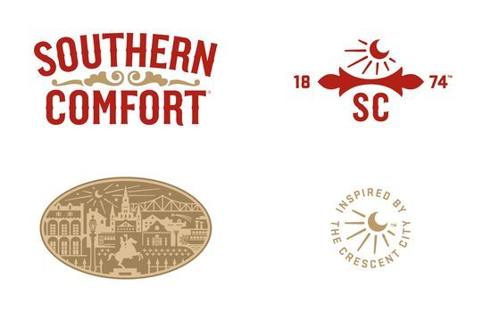 Before & After: Southern Comfort Rebranding.