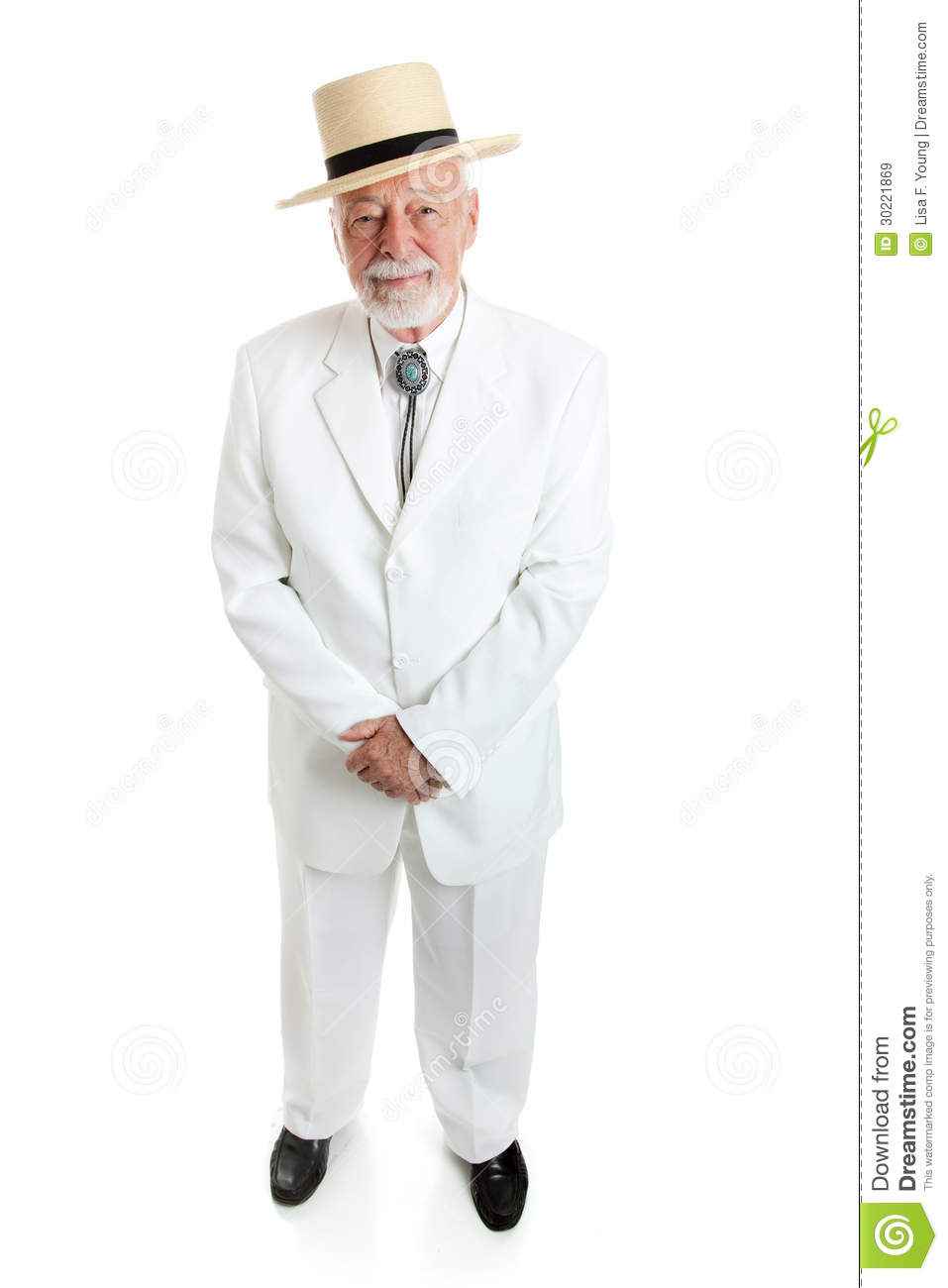 Handsome Southern Gentleman Royalty Free Stock Images.