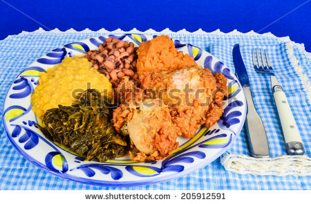 Southern Food Stock Photos, Royalty.