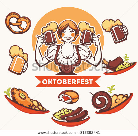 Germany Food Stock Photos, Royalty.