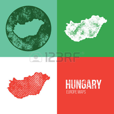 371 Hungarian Map Stock Vector Illustration And Royalty Free.
