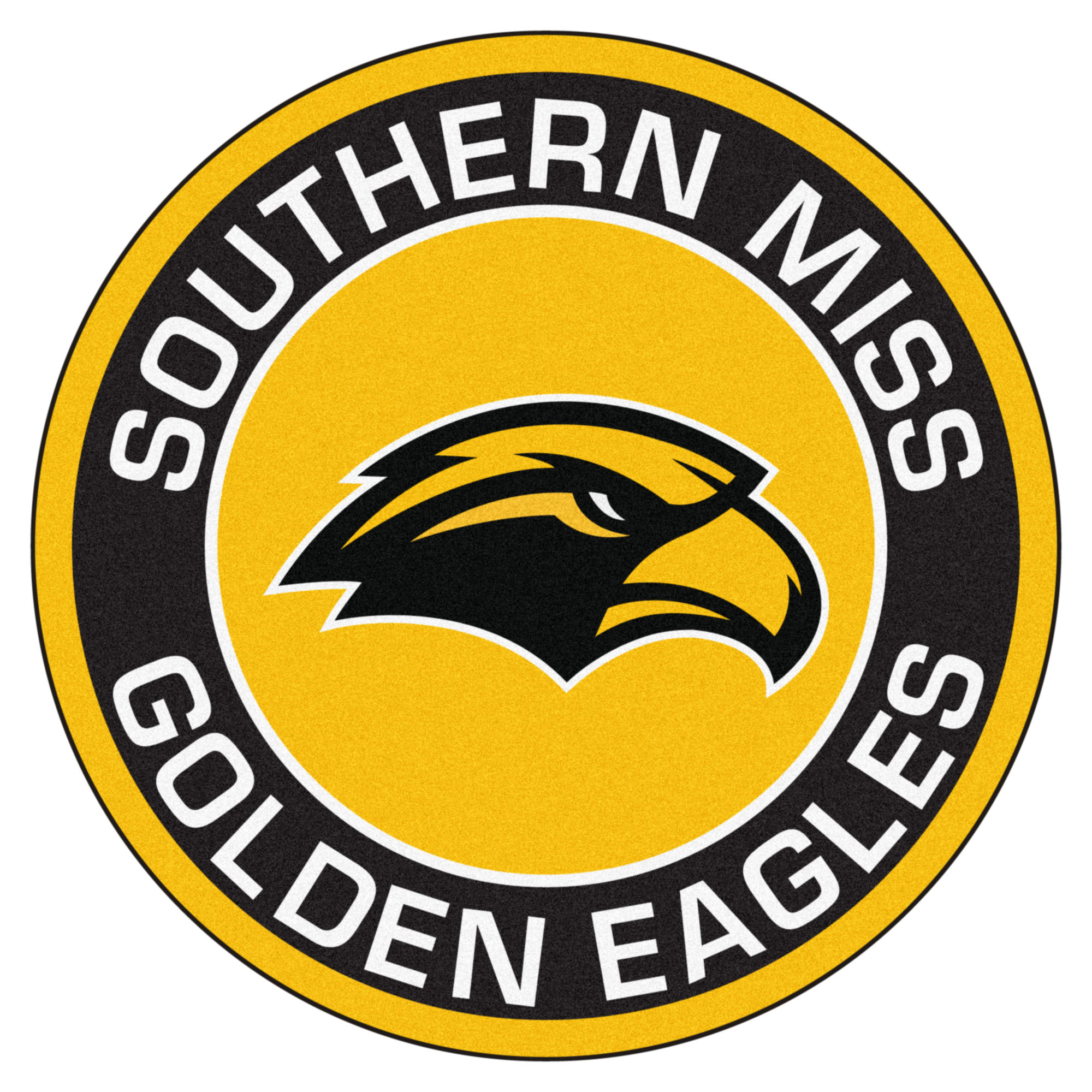 Southern Miss Golden Eagles Logo Roundel Mat.