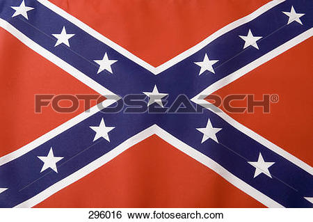 Stock Images of Southern States Flag 296016.