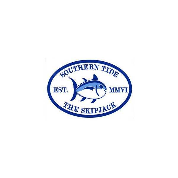 Southern Tide Skip Jack Sticker ❤ liked on Polyvore.