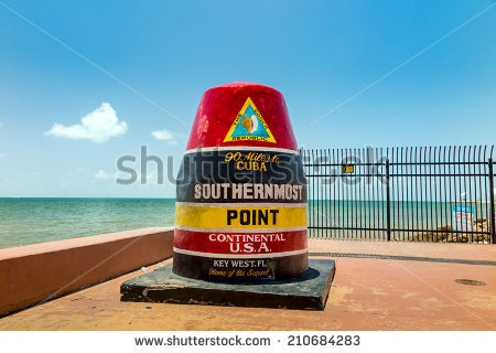Southernmost Point Stock Photos, Royalty.