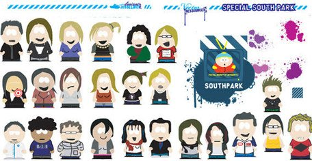 Splats and south park free Clipart Picture Free Download.