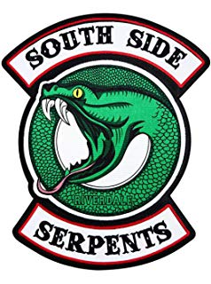 Amazon.com: Riverdale TV Series Southside Serpents Logo.